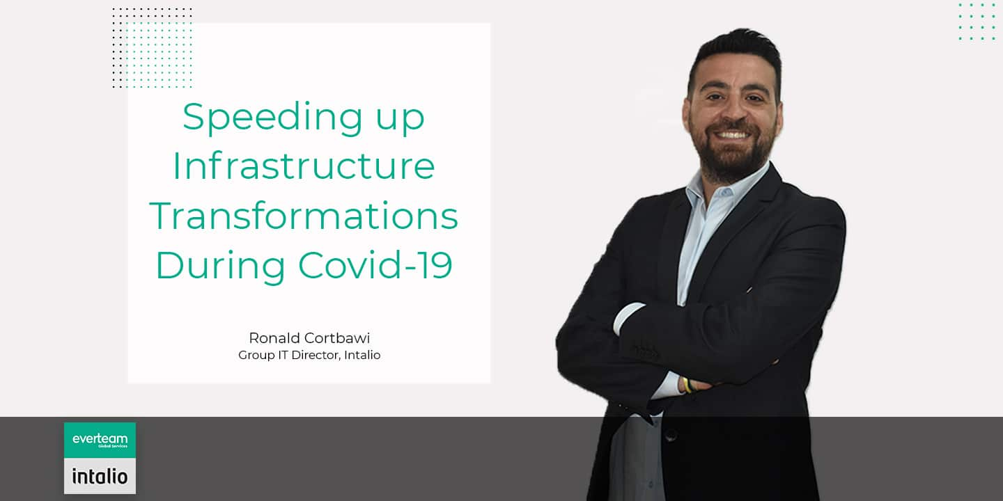 Infrastructure Transformations with Covid-19