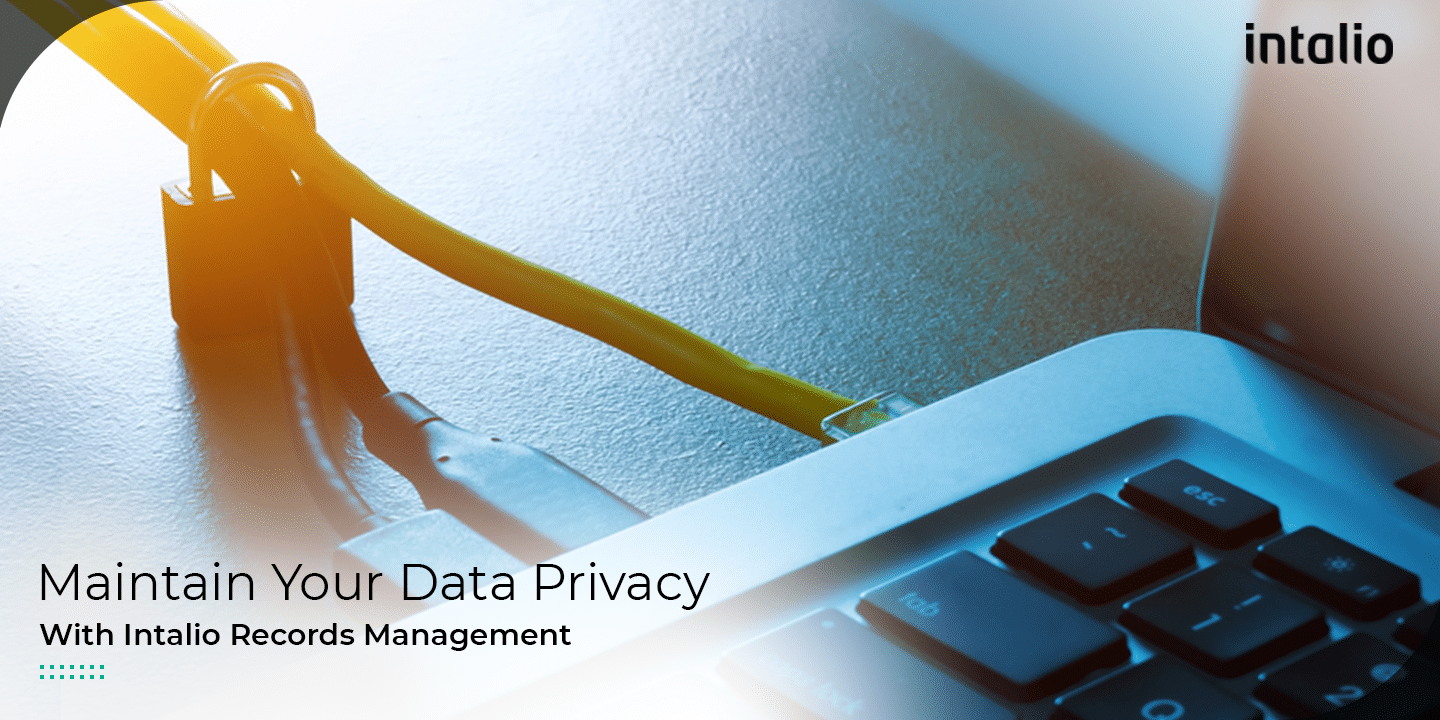 Records Management : A necessity for Data Privacy