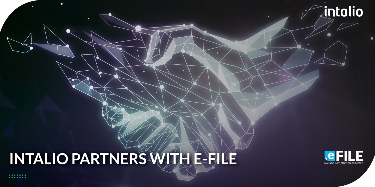 Announcement: Intalio Partners with eFile