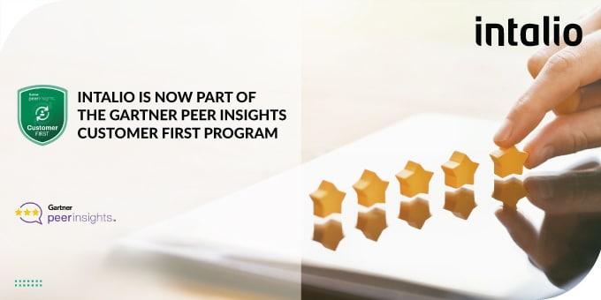 Intalio Is Now Part Of the Gartner Peer Insights Customer First Program for Content Services Platform, And BPM-Platform-Based Case Management Frameworks